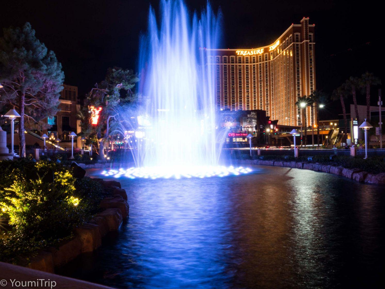 Wynn fountain