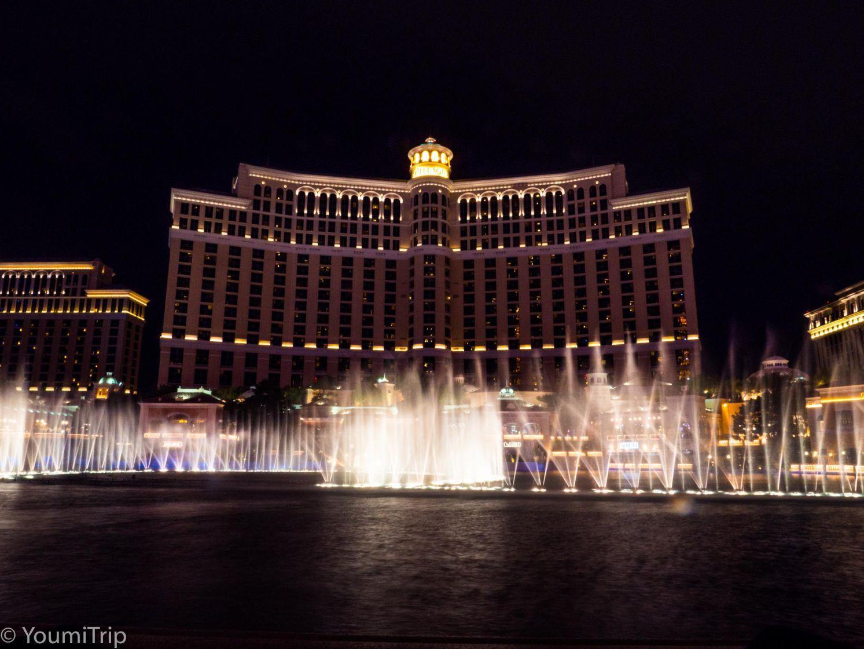 The Bellagio fountain