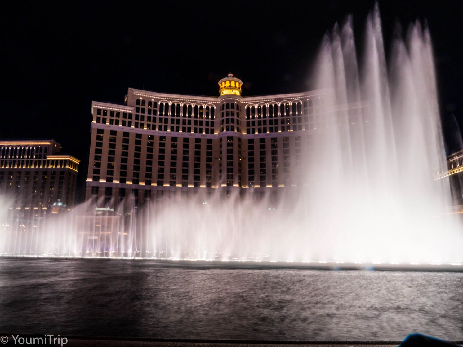 The Bellagio fountain