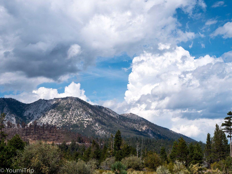 Hill around Lake Tahoe