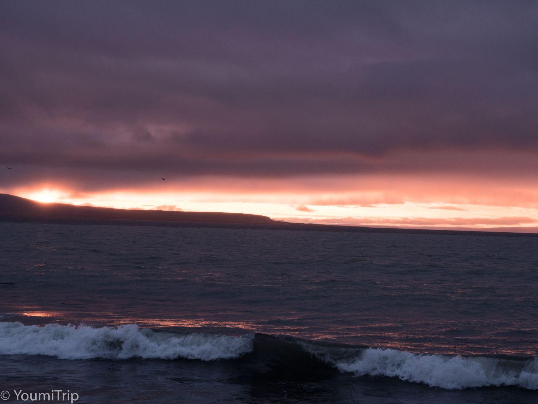 Sunset over Blonduos